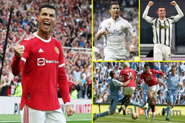 Cristiano Ronaldo might attain 800 profession targets towards Man Metropolis after Manchester United hitman extends astonishing worldwide purpose file and breaks hat-trick feat with Portugal