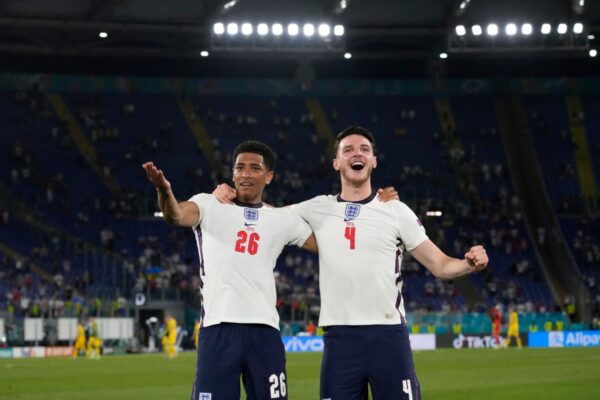 Jude Bellingham and Declan Rice tipped to type England's midfield at Qatar 2022 and be joined by both Phil Foden or Mason Mount
