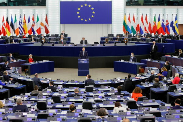 Poland can be punished for difficult EU regulation primacy, European chief warns, as Warsaw claims Brussels is devoid of democracy