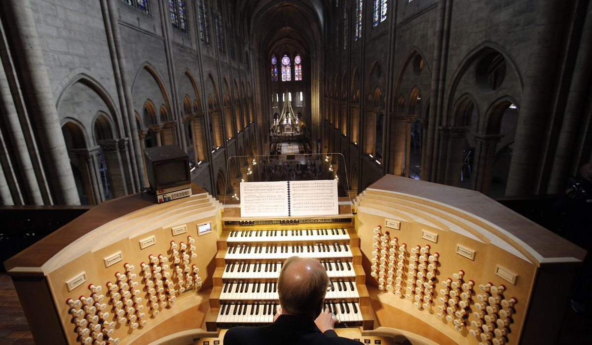 Notre Dame Cathedral's organ getting 4-year-long cleansing