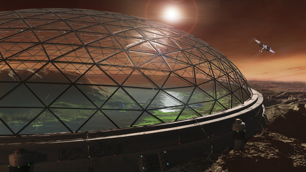 Mars colony game changer: New technology can extract water and fuel from salty water