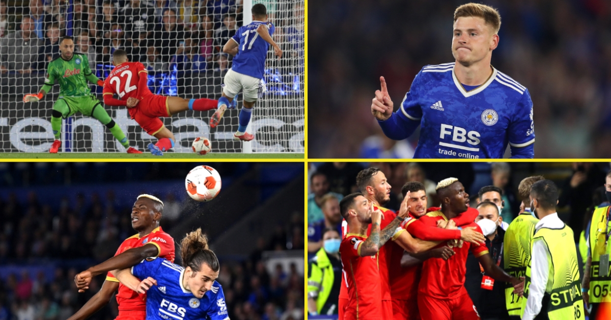 Leicester blow two-goal lead towards Napoli as former Manchester United goal Victor Osimhen scores sensible double with Patson Daka denied first for membership by VAR